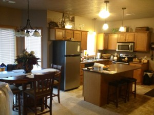 Kitchen and Dining Area-Stainless Steel Appliances